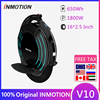 Original INMOTION V10 Self Balancing Electric Scooter 1800W 40km/h 70km Mileage Build-in Handle Unicycle Hover Skate Board 1