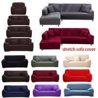Elastische Couch Sofa Abdeckung Sofa Abdeckung Sofa Abdeckungen für Wohnzimmer Schnitts Sofa Schutzhülle Sessel Möbel Abdeckung