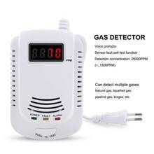 Новый Высокая чувствительность голос газа детектор Светодиодный