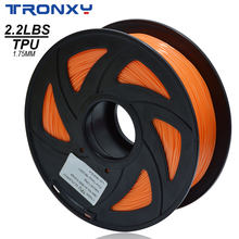 Grote Verkoop Tronxy 3d Printer Filament Tpu 3D Flexibele Tpu Filament 1.75Mm 2.2 Lbs (1Kg) materiaal Tpu Meer Keuzes Van Kleur