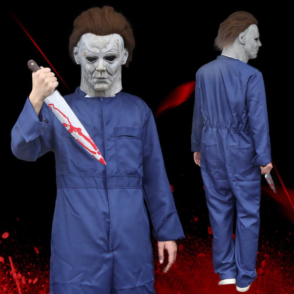 Best Halloween Mask Michael Myers 2020 Horror Killer Michael Myers Cosplay Costume Mask Scary Halloween