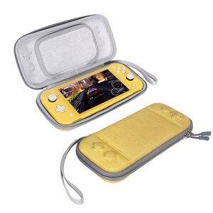 Image 3 - 닌텐도 스위치 라이트에 대 한 휴대용 슬림 케이스 스토리지 가방 콘솔 액세서리 여행 운반 케이스 파우치 Shockproof 가방