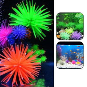 Decoration-Accessory Aquarium Fish-Tank Sea-Anemone-Ornament Plant Artificial-Coral Underwater