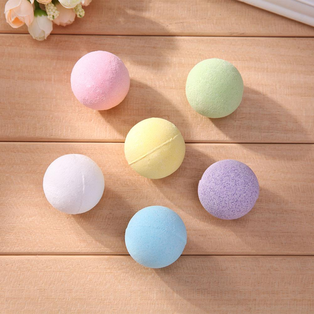 Organic Bath Salt Body Essential Oil Body Health Skin Whitening Bath Ball Natural Bubble Relax Stress Relief Shower Bomb