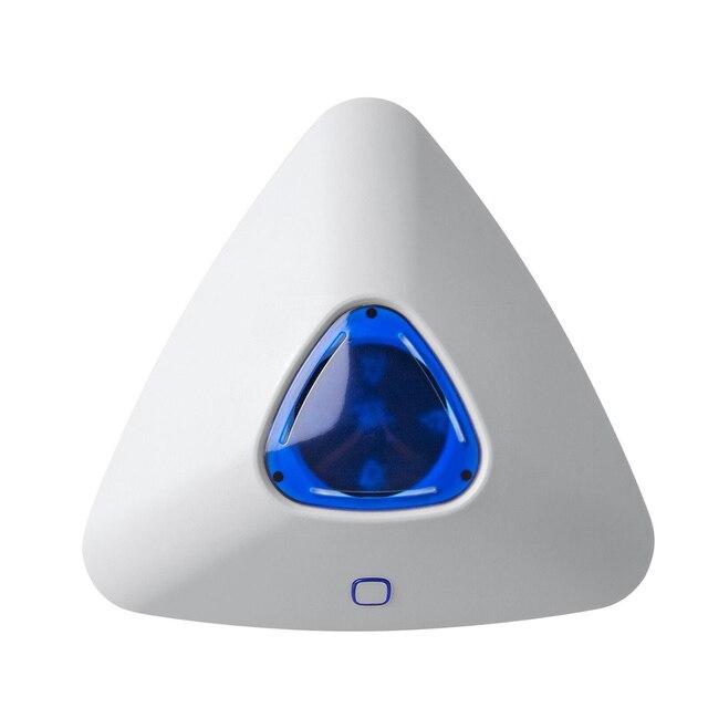 SS07 kablosuz Alarm flaş ses ışığı Siren sensörü G90B artı G90B 3G S5 S1 ev güvenlik açık siren