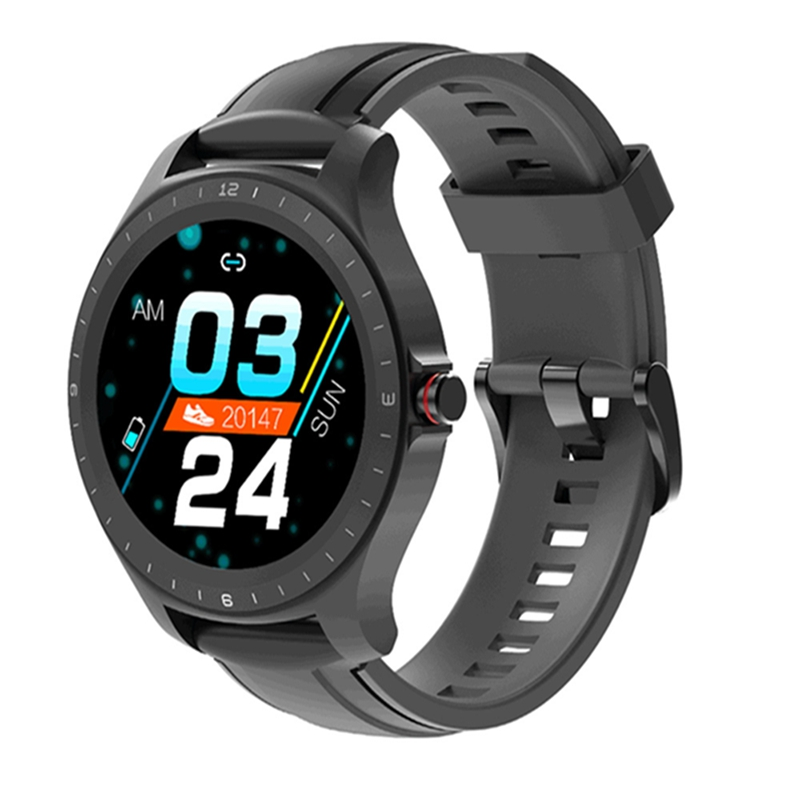 [ bluetooth 5.0 ] BlitzWolf BW-HL2 Smart Watch 1.3′ Full Round Touch Screen Heart Rate Blood Pressure O2 Monitor IP67 Smartwatch