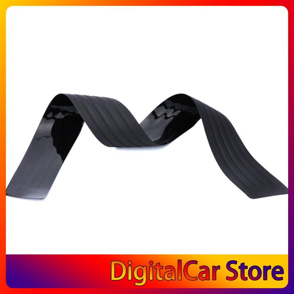 Автомобильный задний багажник устойчивый к царапинам и царапинам резиновая декоративная защитная полоса 90 см 104 см