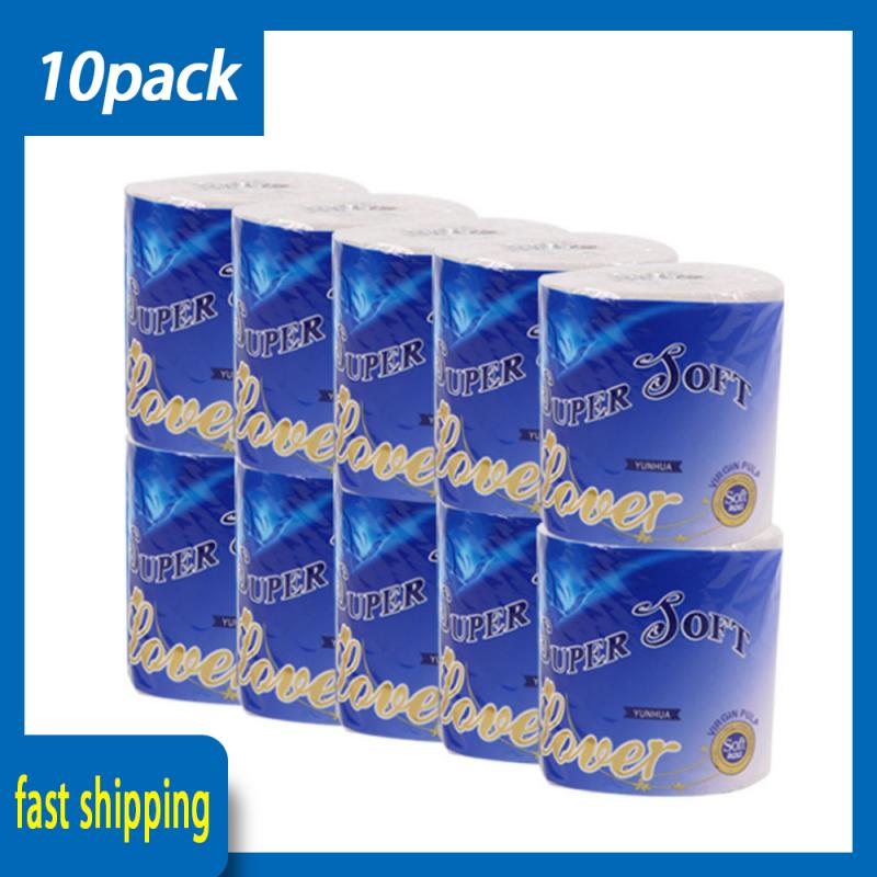 100g Toilet Paper Roll Bulk Toilet Three Layers Of Log Roll Paper Bathroom Paper Tissue Roll Home Bathroom Tools Toilet Paper