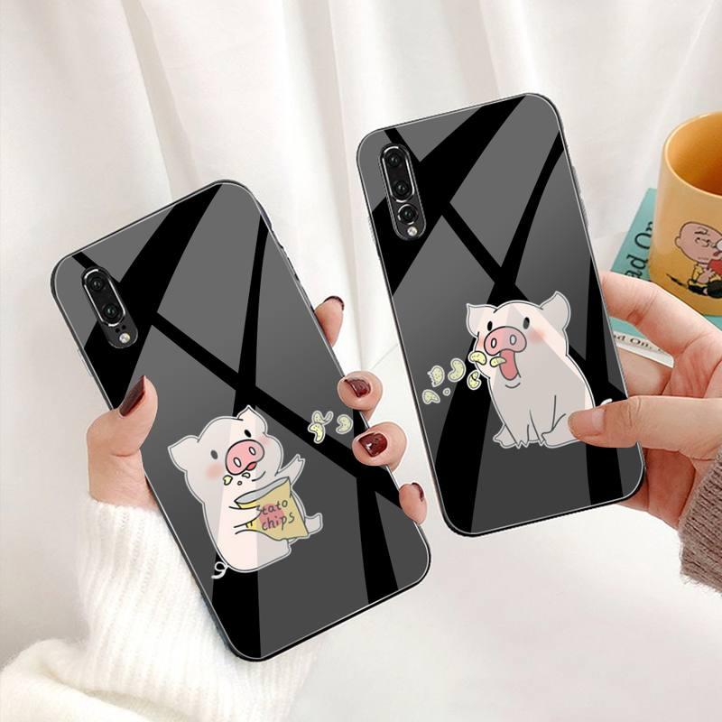 Чехол для телефона из закаленного стекла для Huawei P30 P20 P10 lite honor 7A 8X 9 10 mate 20 Pro