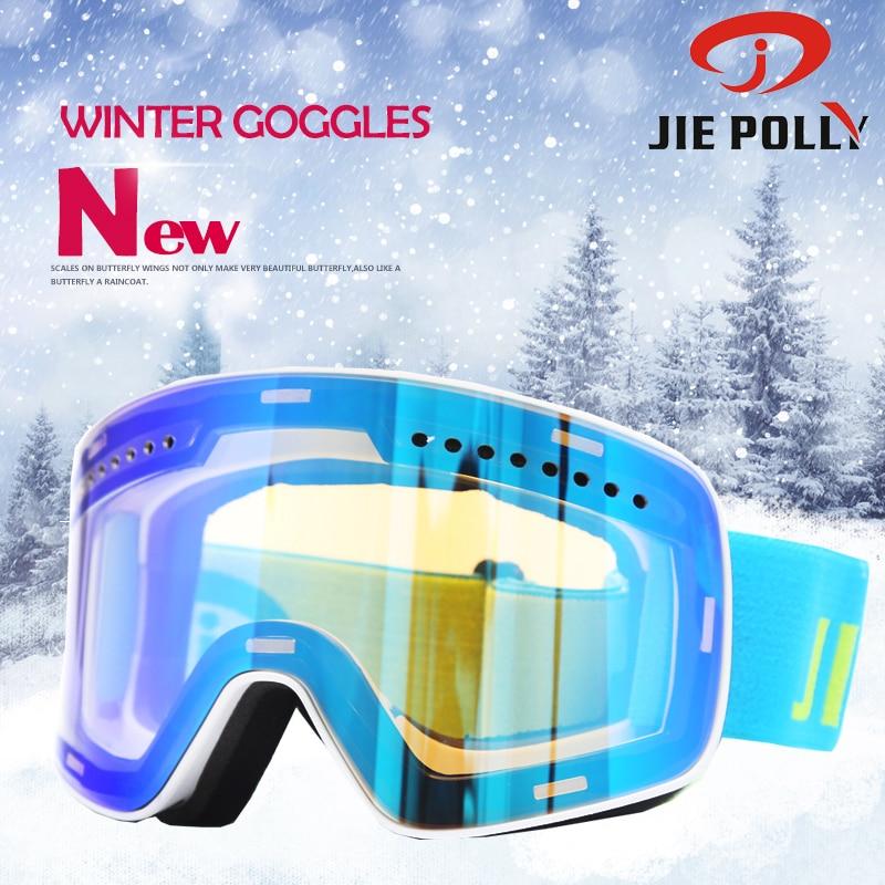 Ski Goggles Men Women UV400 Anti-fog Skiing Eyewear Snow Glasses Adult Skiing Snowboard Windproof Winter Goggles Magnet