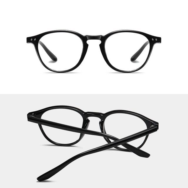 Фото очки tr90 круглые с защитой от синего света для мужчин и женщин