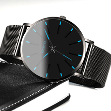 Relogio Masculino Simple Women Men Watches Stainless Steel M