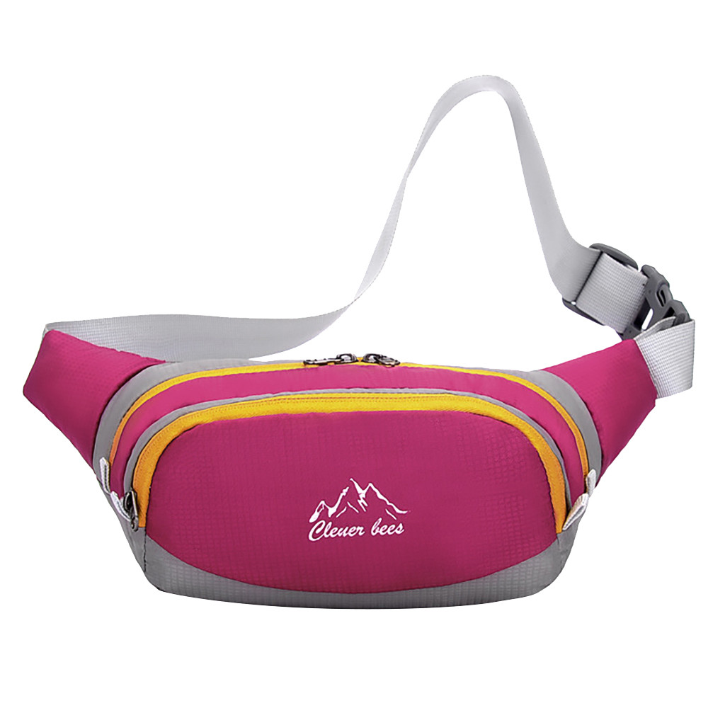 Sleeper #W401 2019 FASHION Men's And Women's Simple Leisure Sport Fitness Waist Packs поясная сумка Simple Gifts Free Shipping