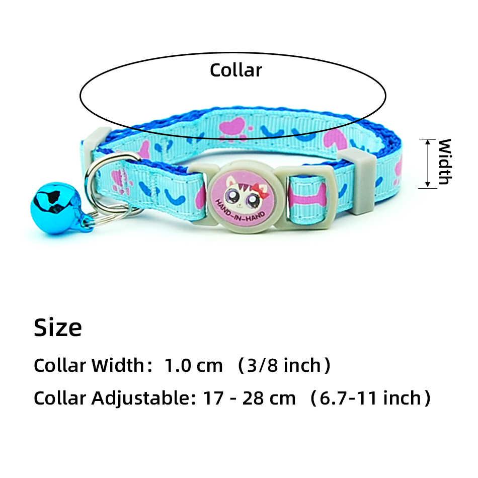 Collier de chat incassable 3 pièces/lot | Fournitures d'animaux réglables de sécurité pour animaux de compagnie avec bandes d'os de chaton, collier de chiot chats, accessoires d'animaux