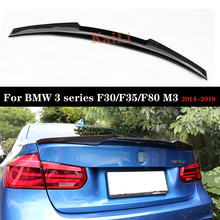 Carbon spoiler For BMW 3 Series F30 F35 F80 M3 Spoilers Car Wing 2014-2018