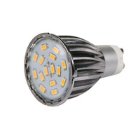 ICOCO 4 x GU10 15 SMD5630 6W LED Spot Light Bulbs High Quality Warm White/Day White Aluminum Shell Wholesale Flash Deal Sale