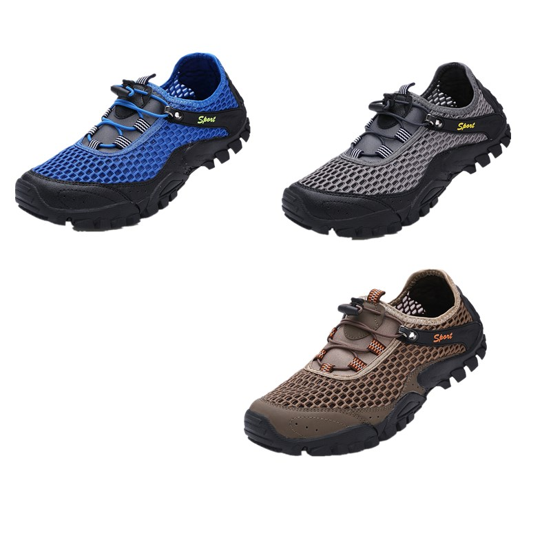 Image 3 - Water Shoes Sneakers Men Non Slip  Beach Sandals Upstream Aqua Shoes  Quick Dry River Sea Slippers  Hiking Climbing  Shoes SeasiUpstream Shoes   -