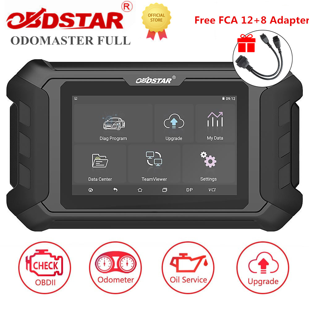 OBDSTAR ODOMASTER ODO MASTER Full Odometer Adjustment/OBDII and Special Functions Cover More Vehicles Models Get Free Fca Adapte