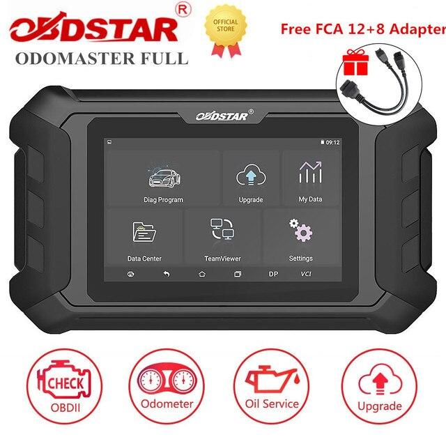 OBDSTAR ODOMASTER ODO MASTER, ajuste completo de odómetro/OBDII y funciones especiales, cubre más modelos de vehículos, obtén adaptador Fca gratis