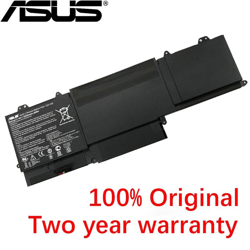 ASUS Original  6520mAh C23-UX32 Laptop Battery For Asus VivoBook U38N U38K U38DT U38N-C4004H For Zenbook UX32 UX3A UX32VD UX32LA