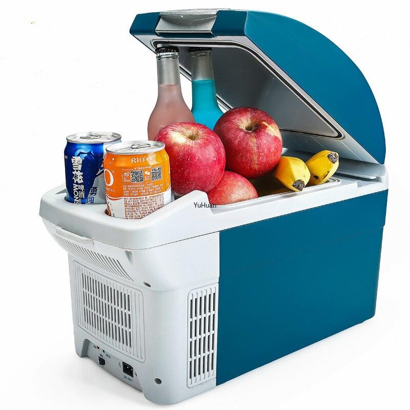 220v 12v  Mini Car Home Dual Purpose Car Refrigeration Refrigeration Car Fridge  Mini FridgeTruck  Refrigerator  Refrigerators