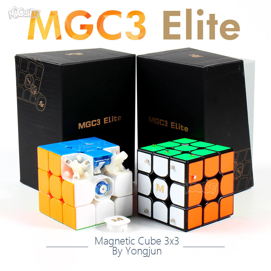 Magnetic Cube Magic Speed 3x3x3 MGC3 Elite M Magnet Cube Puzzle 3x3 Yongjun MGC V3 Magico Educational Toys For Children