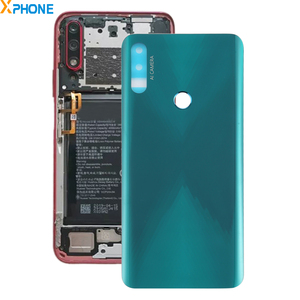 Image 1 - סוללה כריכה אחורית עבור Huawei Honor 9X הגלובלי נייד טלפון חזרה כיסוי Smartphone תיקון חלקים