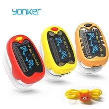 Yonker ילודים תינוק אצבע דופק Oximeter 1 12 שנים החל תינוקות ילדים תינוק דופק Oximeter ילדים דה Dedo oximetro
