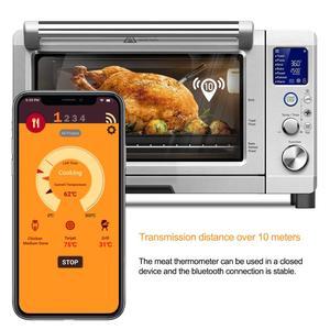 Image 5 - WGT דיגיטלי בדיקה Vlees בשר מדחום מטבח בישול אלחוטי מנגל מזון מדחום Bluetooth תנור גריל מדחום בדיקה
