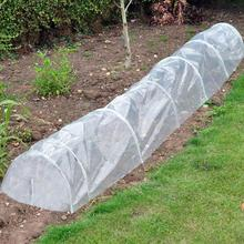 Garden Poly Tunnel Greenhouse Plants Metal Frame Protector Roof Panels Foil Hothouse Pest Control Green House