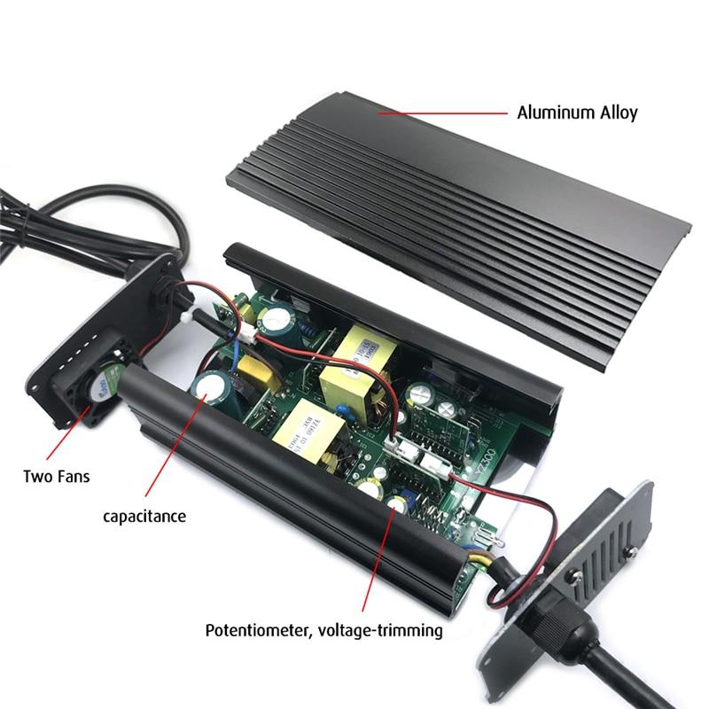 100-240Vac 67.2V 5A Lader 60V 5A Li-Ion Lader 47-63Hz Voor 16S 60V Lithium batterij Snellader 2