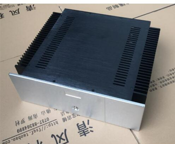 All aluminum 4135 amplifier chassis / Class A amplifier case / AMP Enclosure / case / DIY box ( 430*150*371mm)