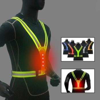 Bicycle Motorcycle Protective Reflective Safety Vest Adjustable Safety Security High Visibility Vest Gear Stripes for Night unisex car motorcycle reflective safety clothing high visibility safety reflective vest warning coat reflect stripes tops jacket