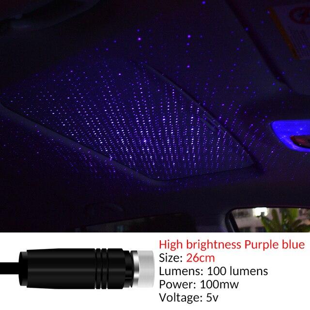 Купить 1 шт led устанавливаемый на крыше автомобиля sky star ночник картинки цена