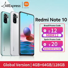 [Мировая премьера В наличии] Глобальная версия Xiaomi Redmi Note 10 Смартфон Snapdragon 678 AMOLED Дисплей 48Мп Четыре Камера 33W