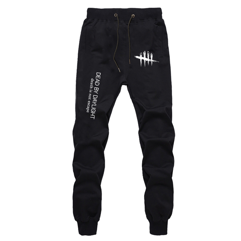 Autumn Winter Harajuku Fitness Joggers Workout Trousers Dead By Daylight Pants Boys Streetwear Sweatpants Cotton Trousers Mens