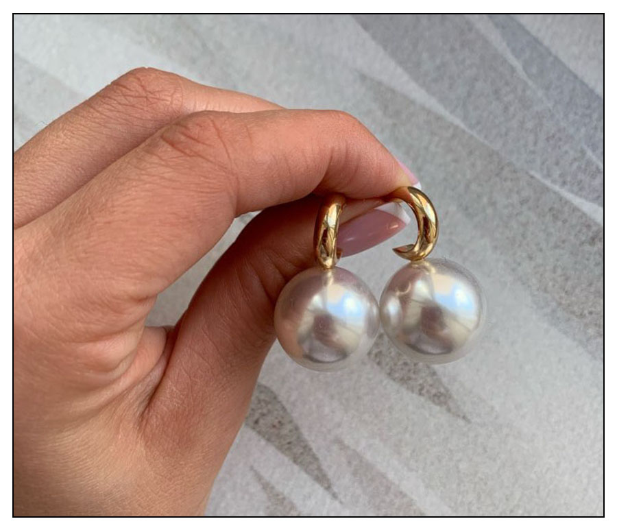 Ha38ea628d36144f58dc558c1c88f5b94t - VKME Simulated Pearl earrings For Women NEW Earrings Vintage Gold Jewellery Wedding Gifts