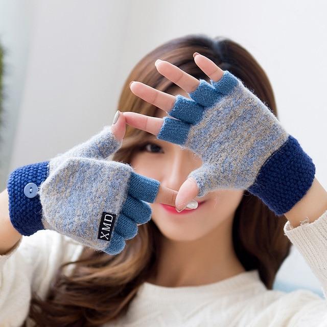 Cute Half Finger Gloves 3