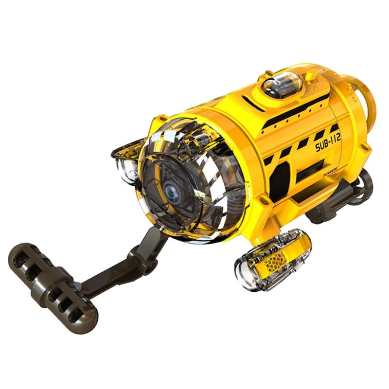 Tech RC Infrared underwater submarine Mini Remote control Underwater Drone Gift
