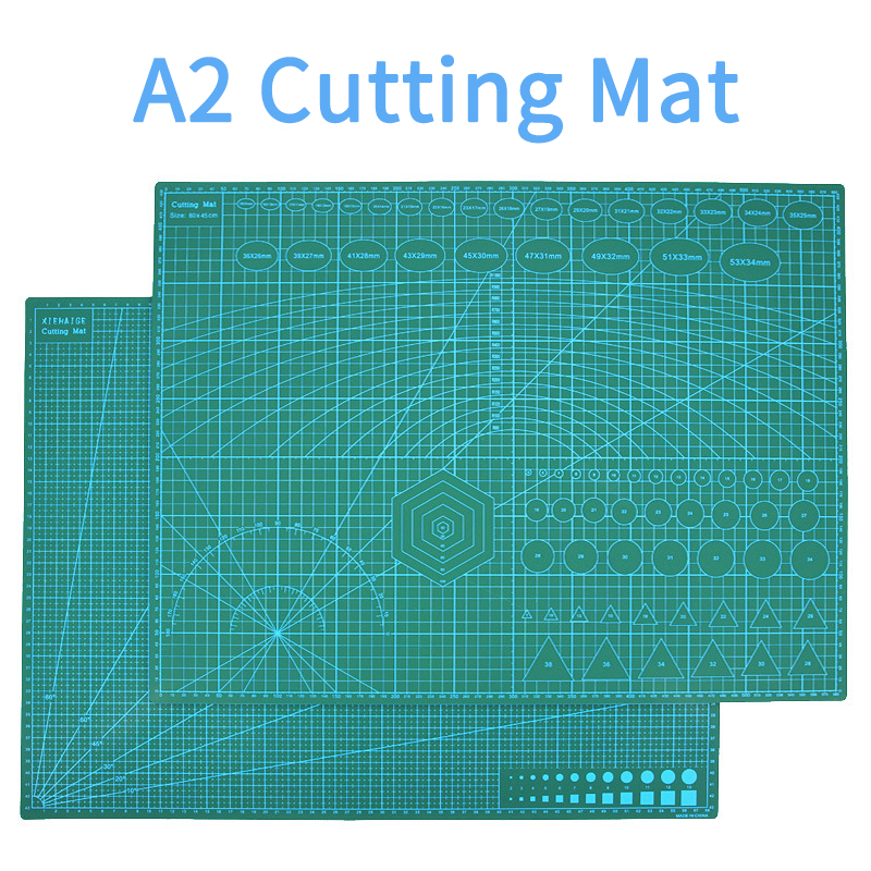 Reusable A2 Cutting Mat Patchwork Durable Side A2 PVC Carving Cutting Mats Cutting Board Tools For Patchwork