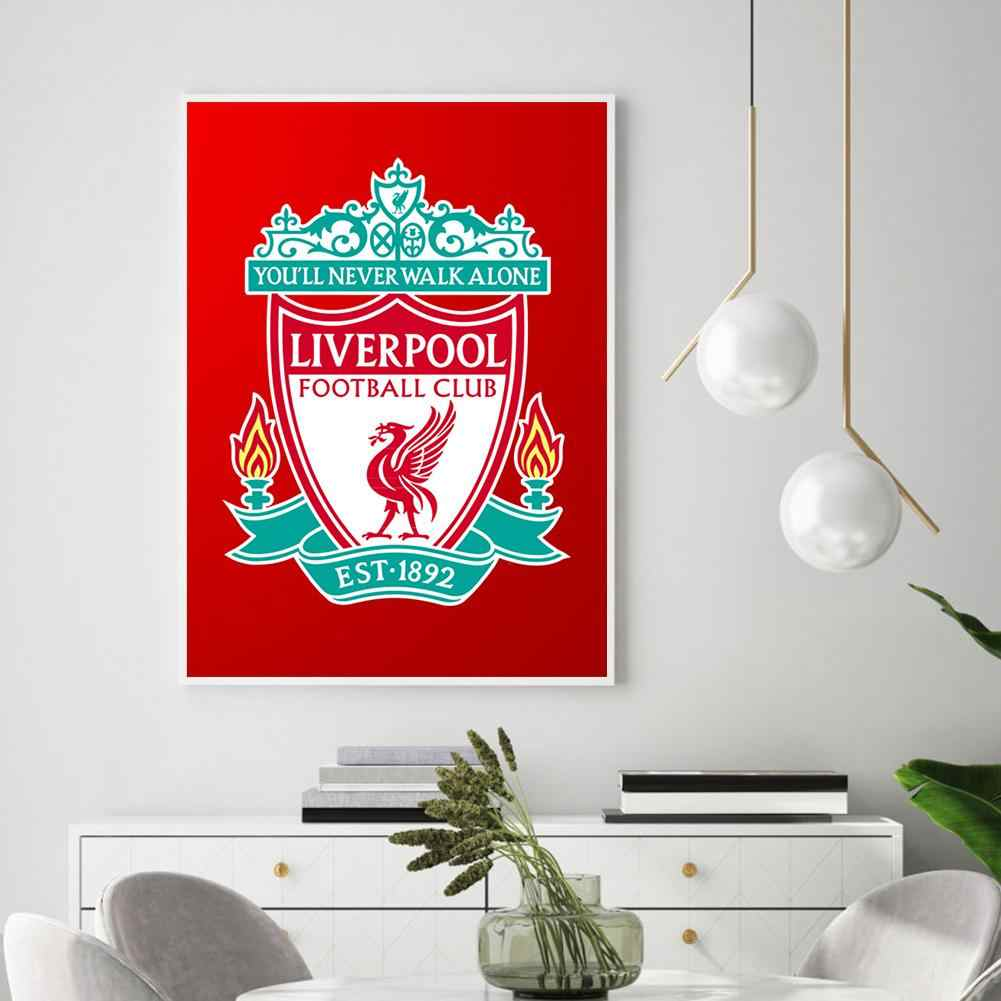 5D DIY Full Drill Diamond Painting Liverpool Embroidery Mosaic Kit Decor 30X40cm