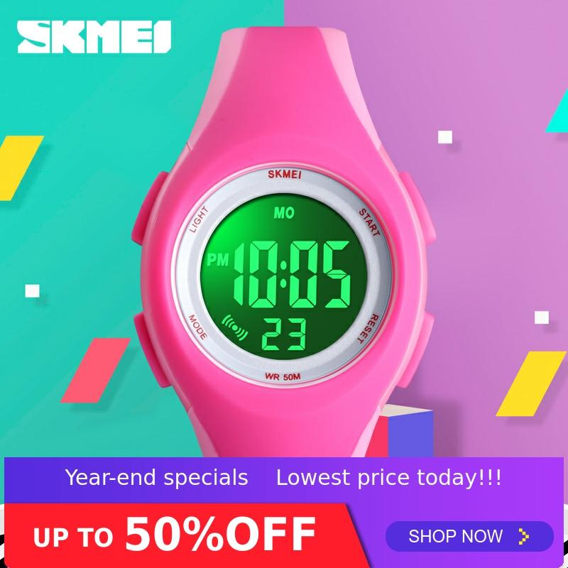 SKMEI Sport Kids Watch Children Fashion More Colors Watch 5bar Waterproof Digital Luminous Display Montre Enfant Watches 1459