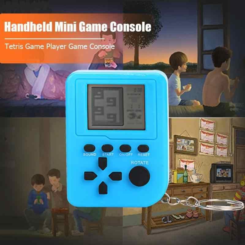 ミニノスタルジックな液晶コンソールハンドヘルドゲームプレーヤー 26 で 1 ミニビデオゲームプレーヤーギフト w/キーホルダーサポートドロップシッピング