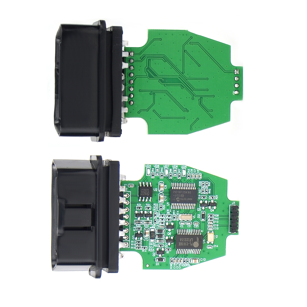 PIC 18F25K80 Chip USB to OBD2 Diagnostic Tools ELS27 OBD Scanners For Ford Mazda Lincoln Mercury FORScan