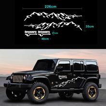 New Hot Sell Mountain RV Stickers Styling Car Door Side Decor Reflective KK Vinyl Decals for JDM SUV RV VAN