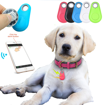Pet Dog Smart GPS Tracker With Battery Anti-Lost Alarm Wireless Bluetooth Tracker for Pet Dog Cat Kids Car Wallet Key Locator image