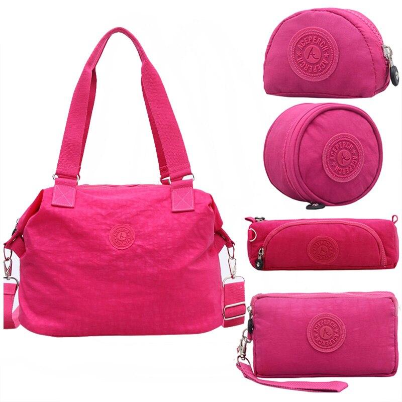 ACEPERCH Women Originais Messenger Bags Waterproof Nylon Handbag Female Shoulder Ladies Crossbody Bolsa Sac A Main Femme clutch