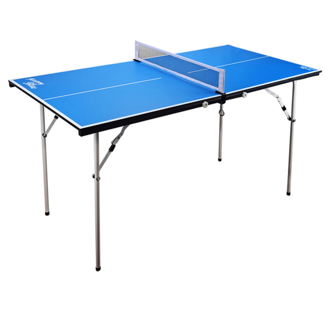 Double Fish Portable Foldable Kids Table Tennis Table Mini Children Table Tennis Table Pingpong Table