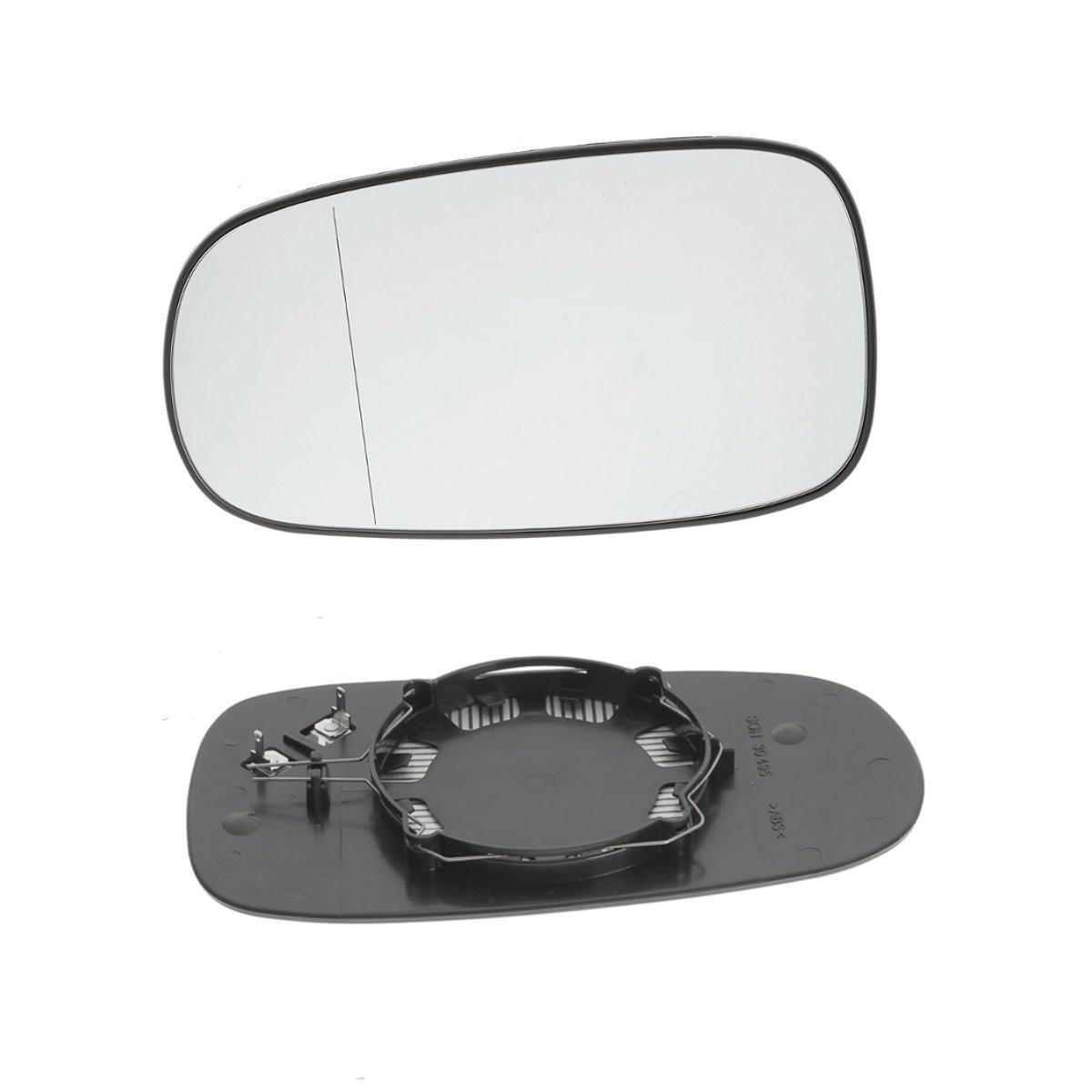 Direita esquerda lado do passageiro espelho de asa de vidro aquecido elétrico para saab 9-3 93 2003-2010 9-5 2003-2008 peças de reposição accessorie