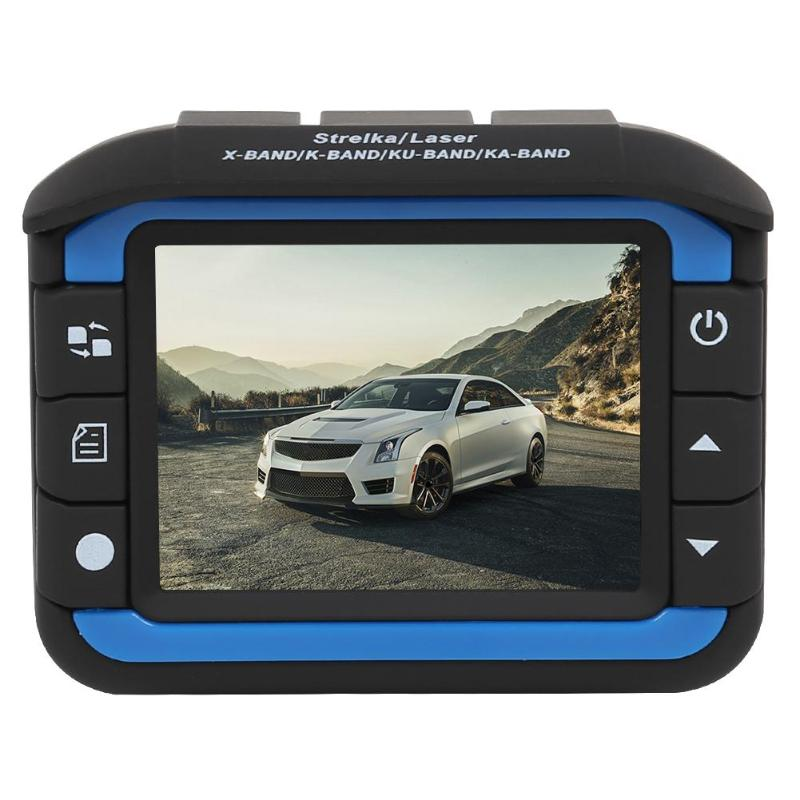 Car-Dvr Gps-Radar-Detector Video-Recorder Dash-Cam Speed-Display 3-In-1 Russian 30 300W